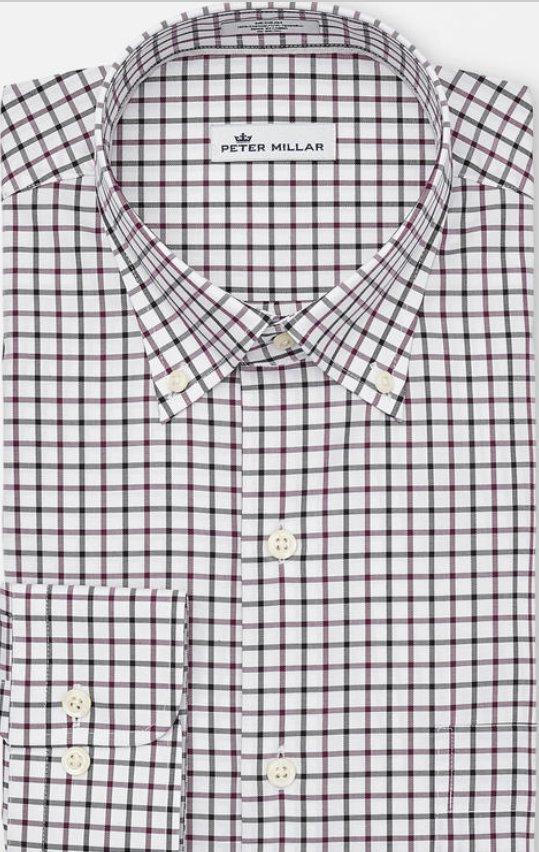 Peter Millar Malta Tattersall Shirt