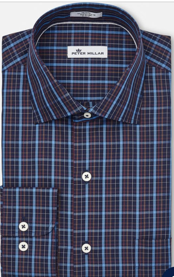 Peter Millar Quarry Falls Plaid Shirt