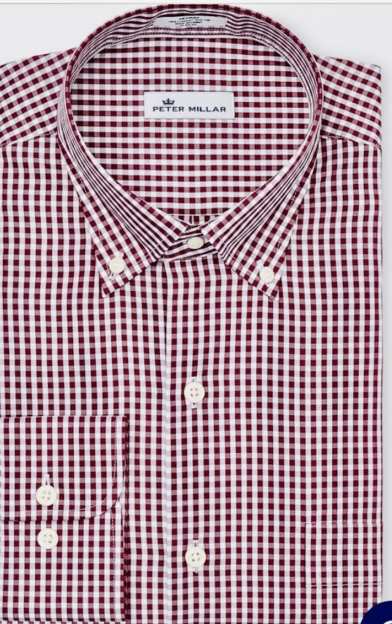 Peter Millar Gingham Shirt