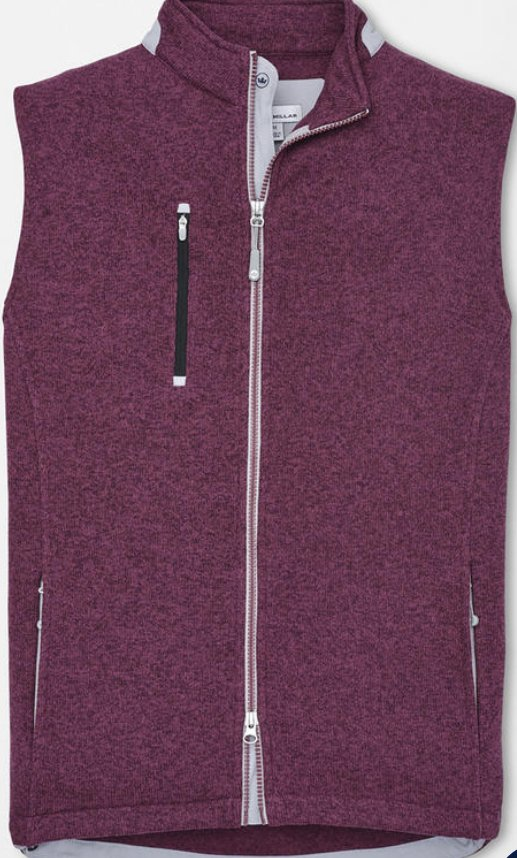 Peter Millar Legacy Sweater Fleece Full-Zip Vest
