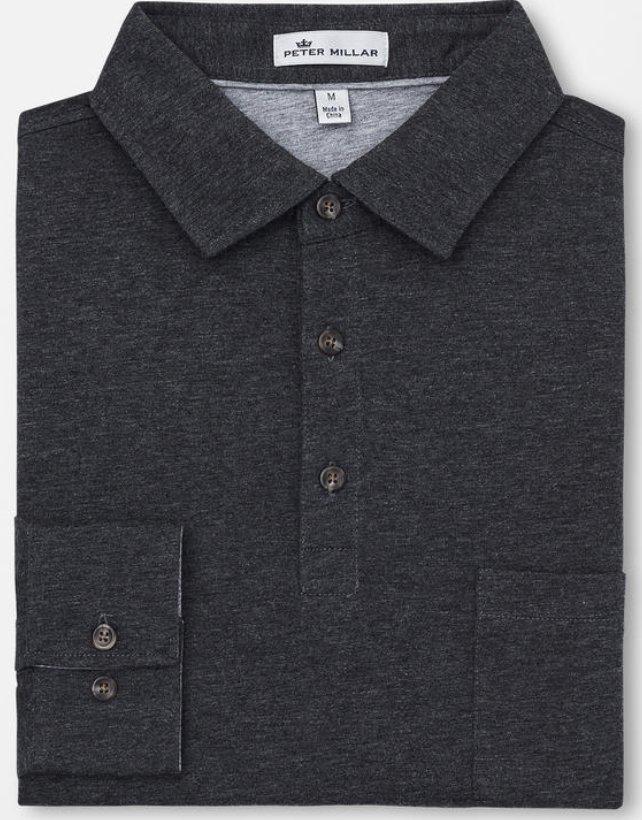 Peter Millar Long-Sleeve Polo