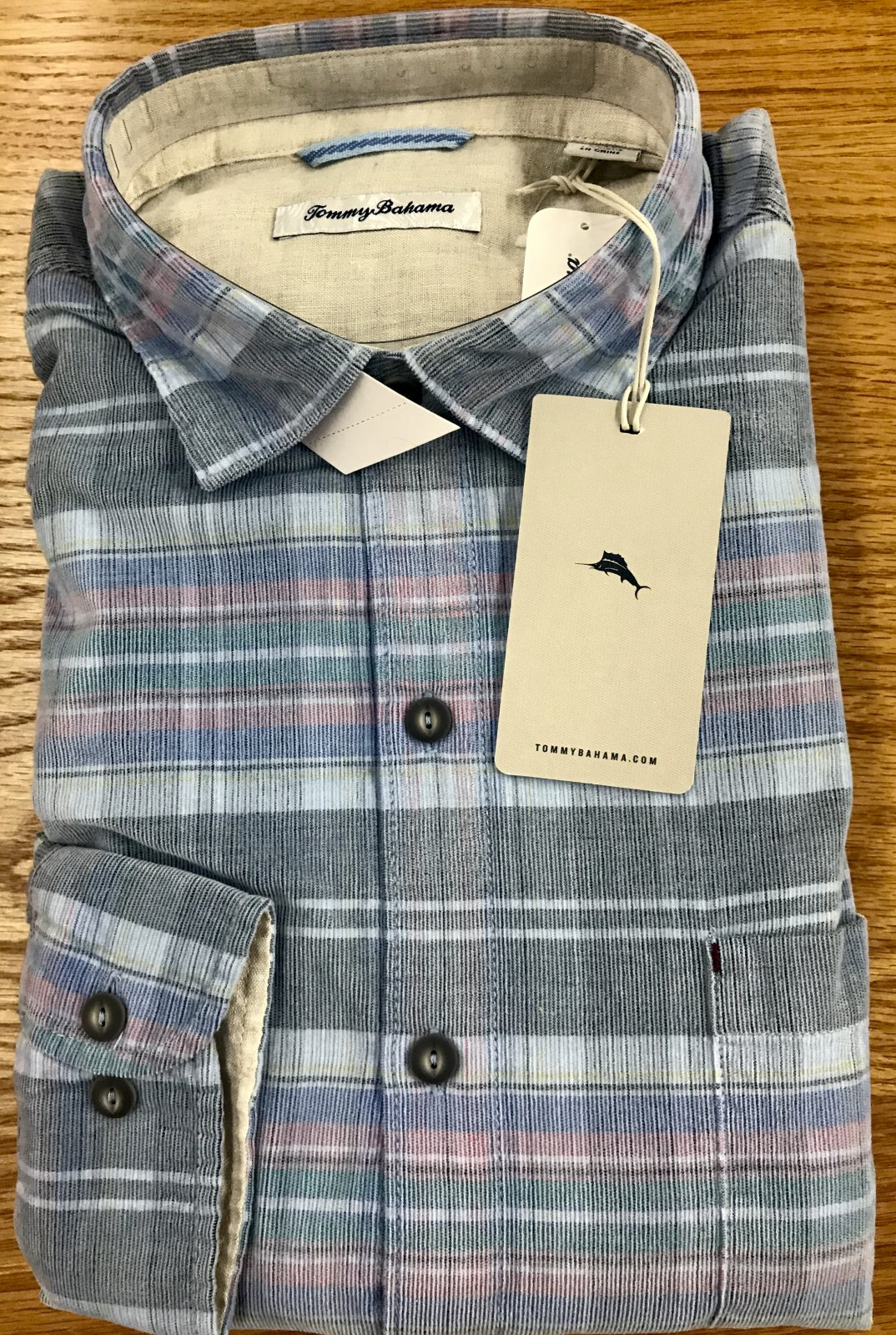 Tommy BahamaBecket Bay Cord Shirt