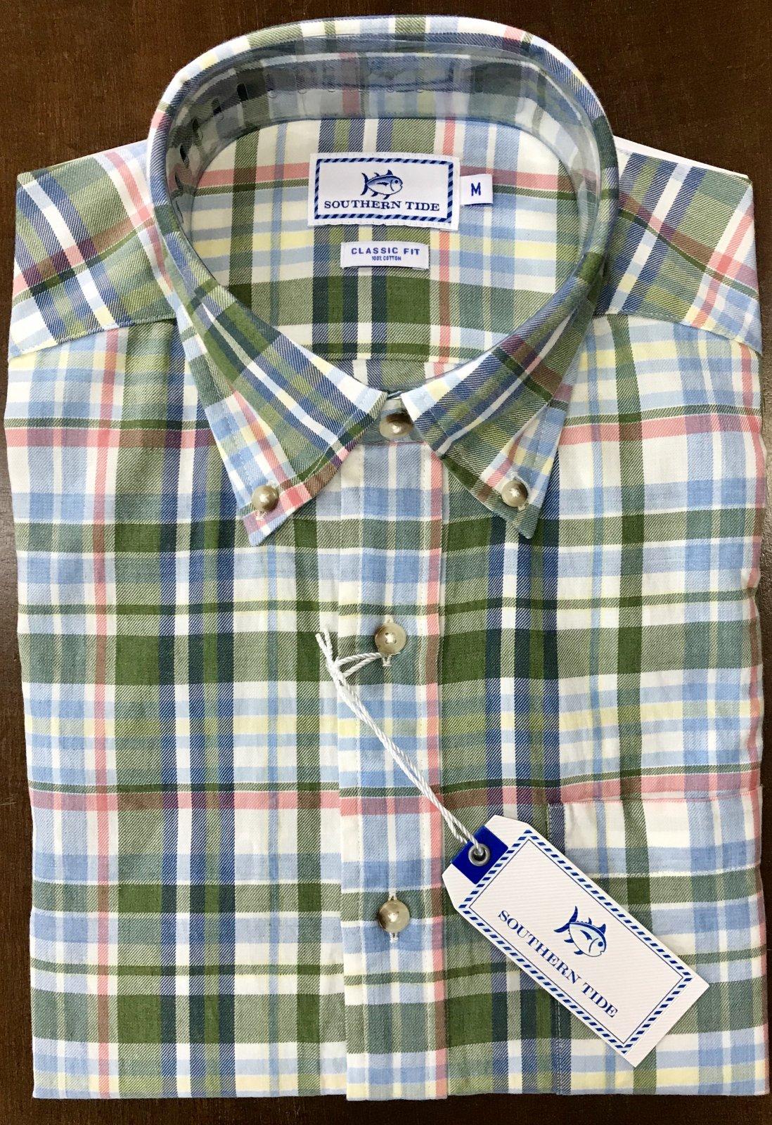 Southern Tide Westlake Plaid Shirt