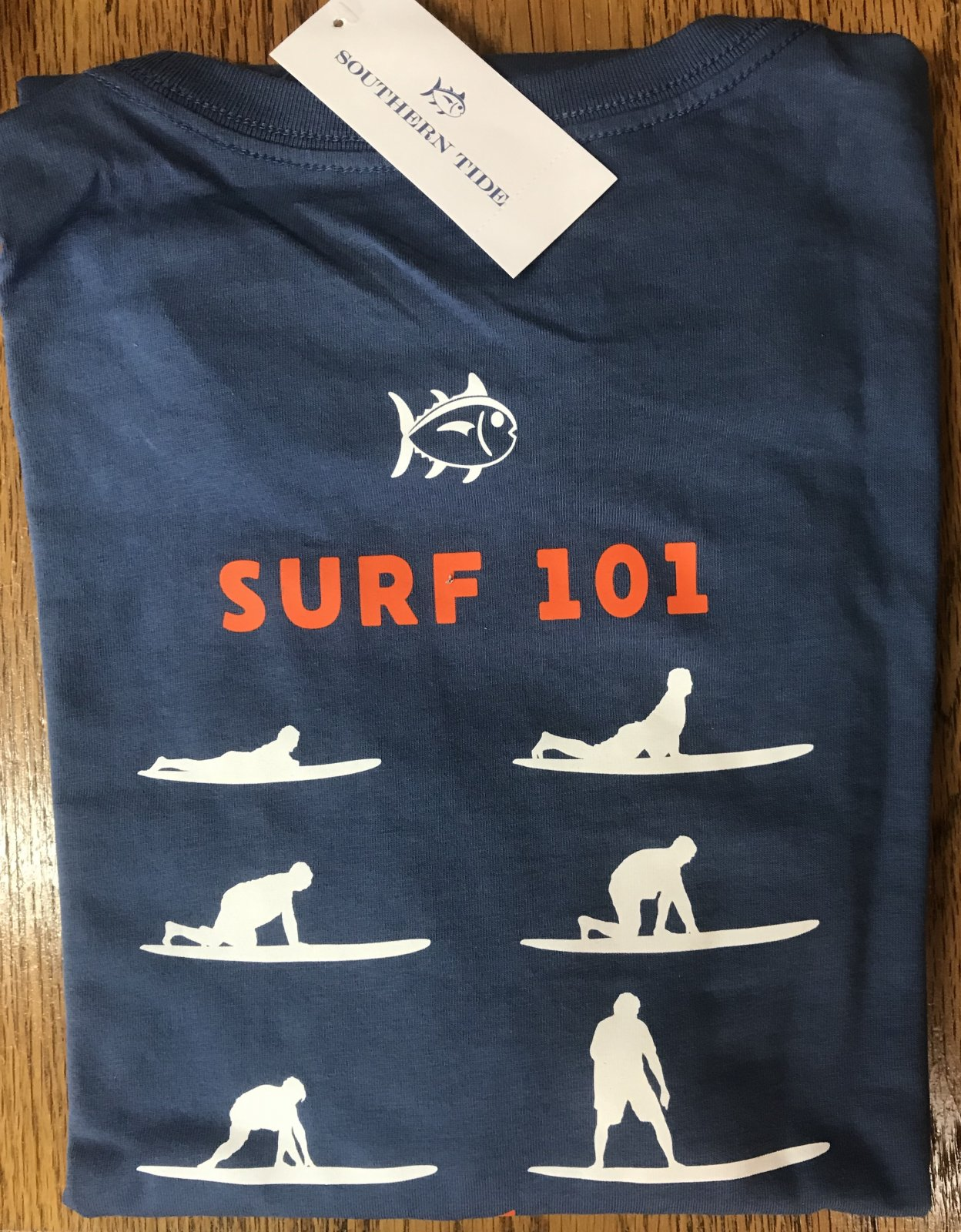 Southern Tide LS Stand Up 101 Tee 5490