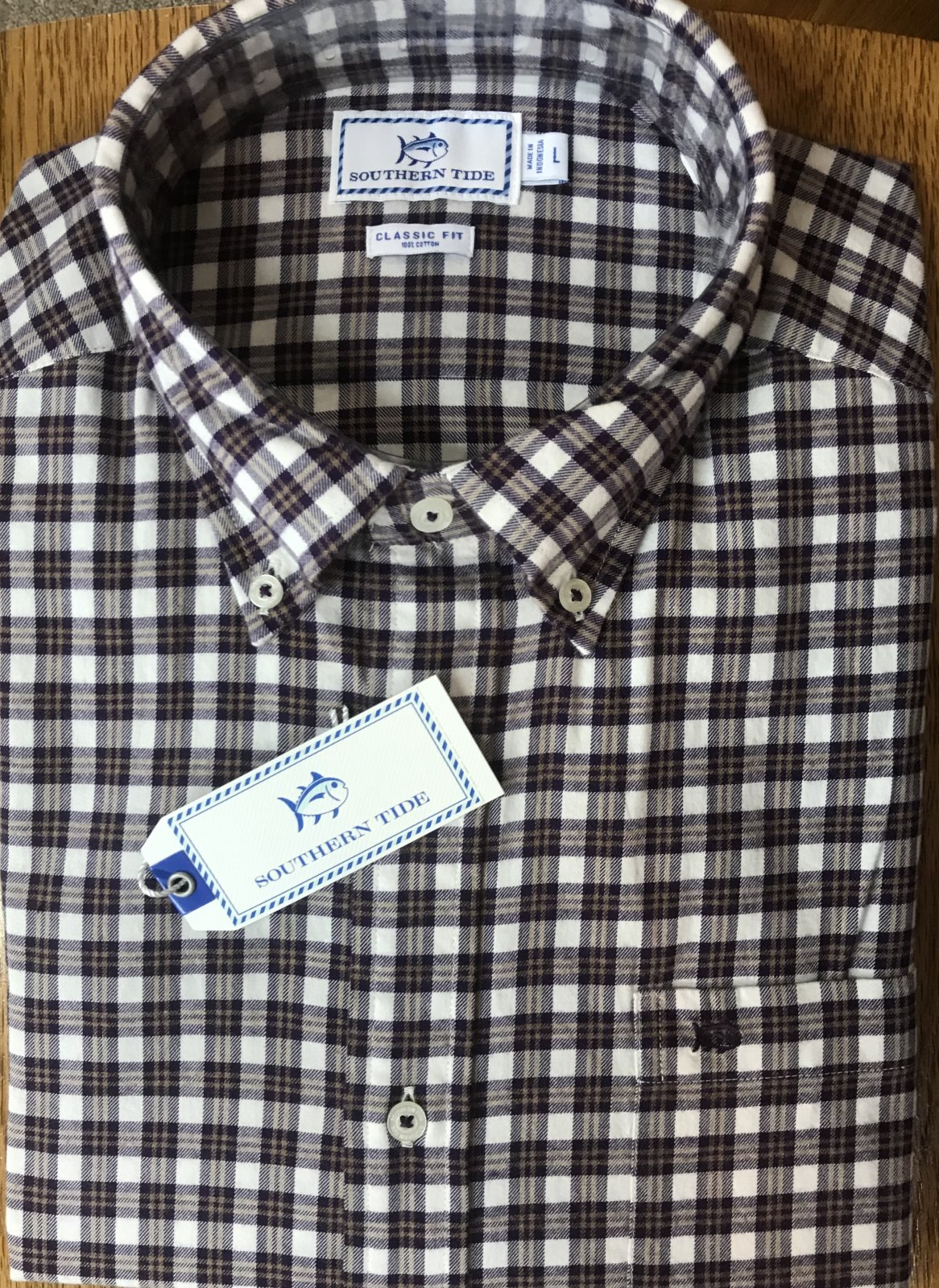 Southern Tide LS Cutwater Check Sportshirt 5372