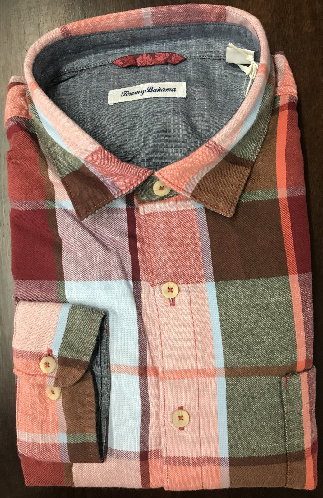 Tommy Bahama Heredia Plaid Flannel Shirt
