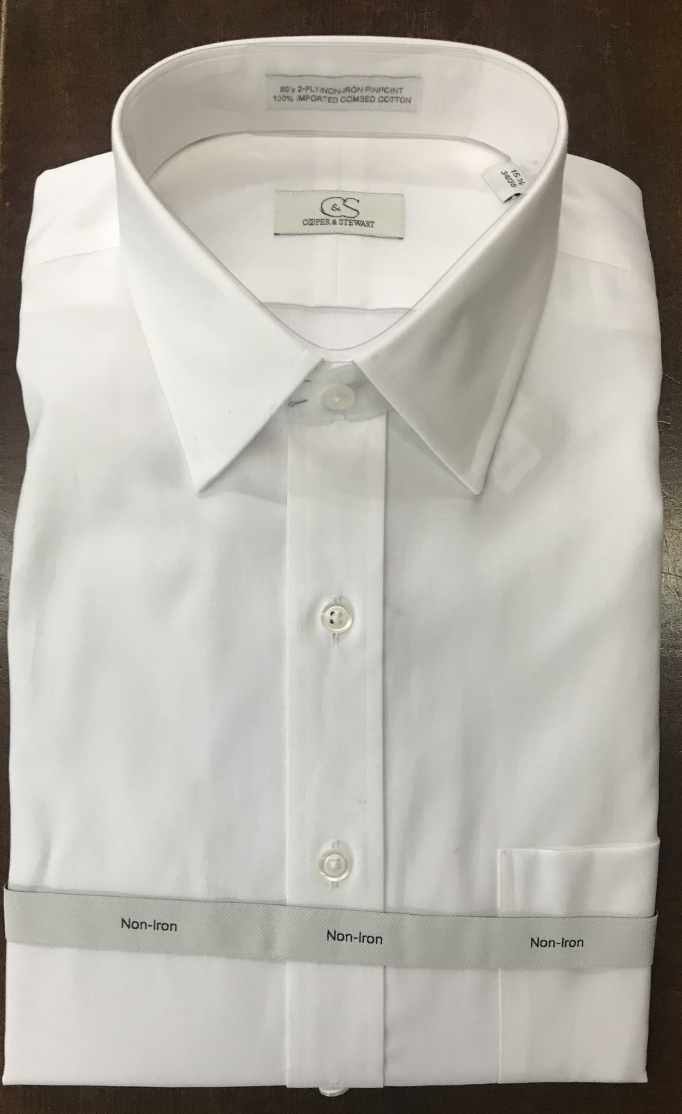 Cooper & Stewart LS Dress Shirt 20-1080