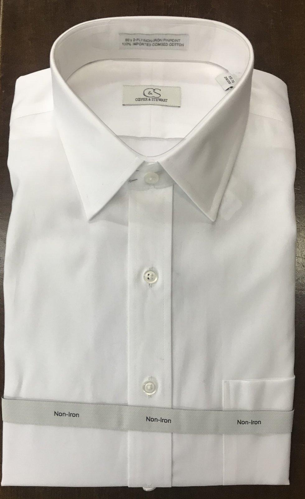 Cooper & Stewart Tailored LS Dress Shirt