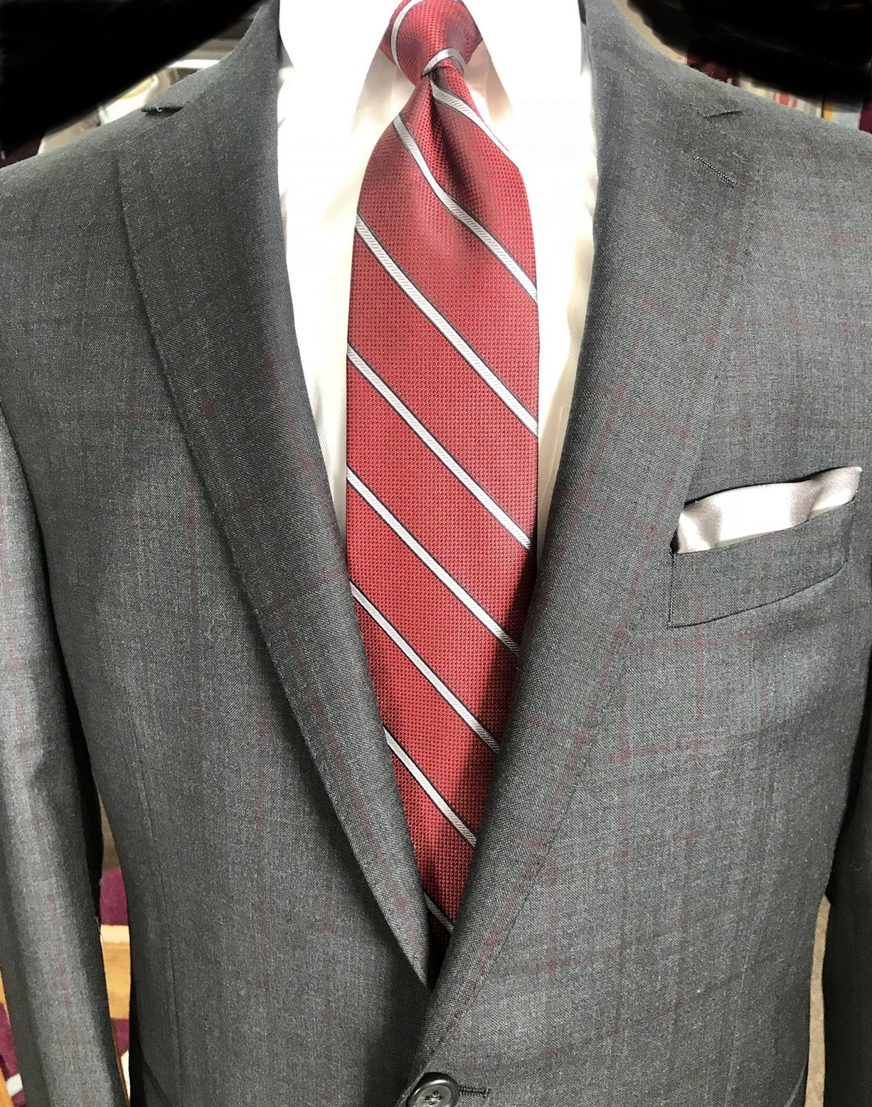 Paul Betenly Vantage Wool Suit