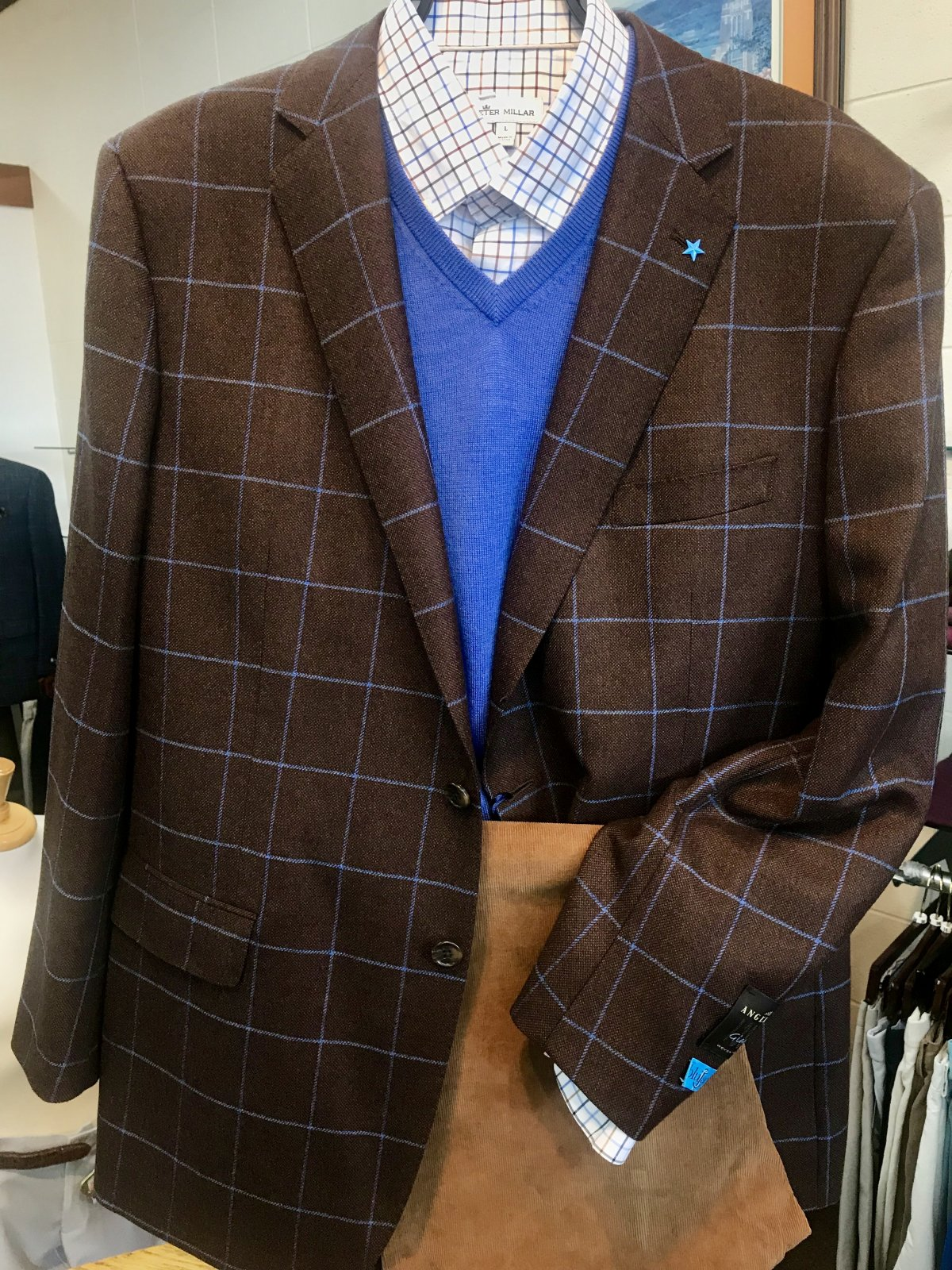 Blujacket Window Pane Sportcoat 1082222