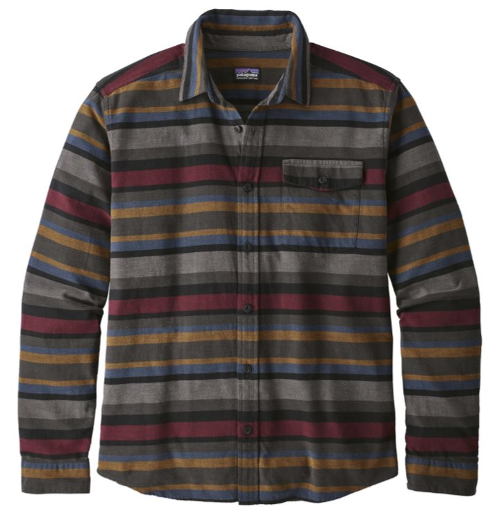 Patagonia L/S Lightweight Fjord Flannel Shirt