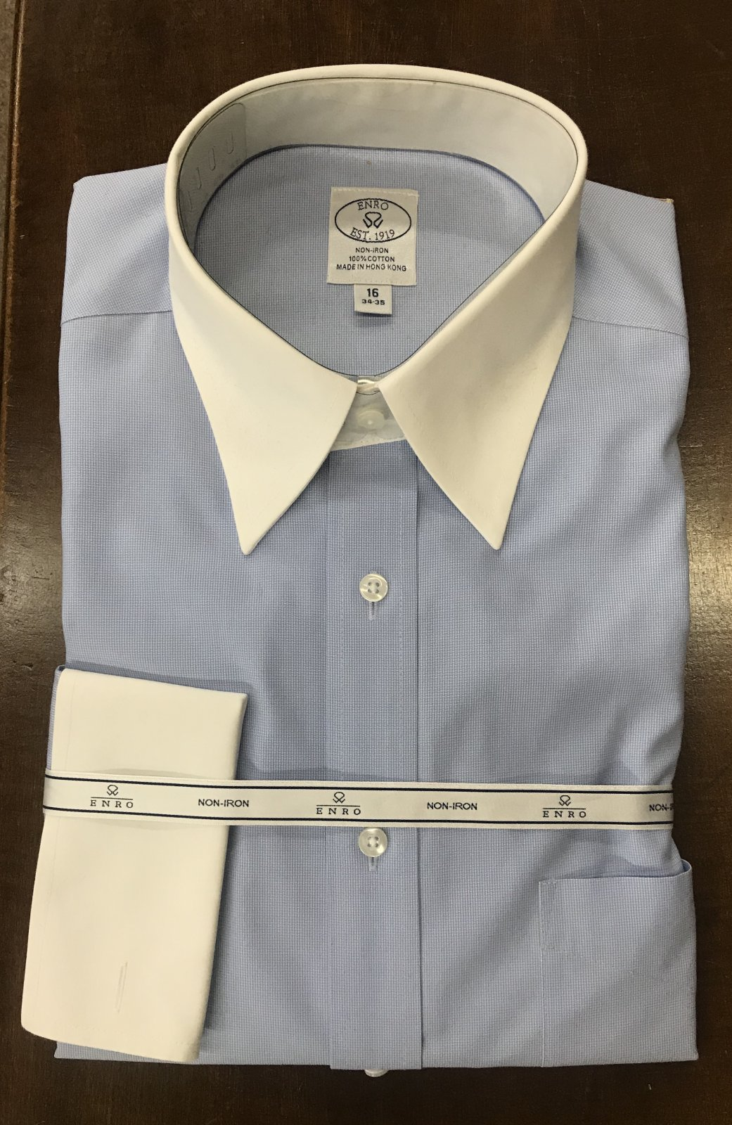 Enro LS Dress Shirt 111052 French Cuff