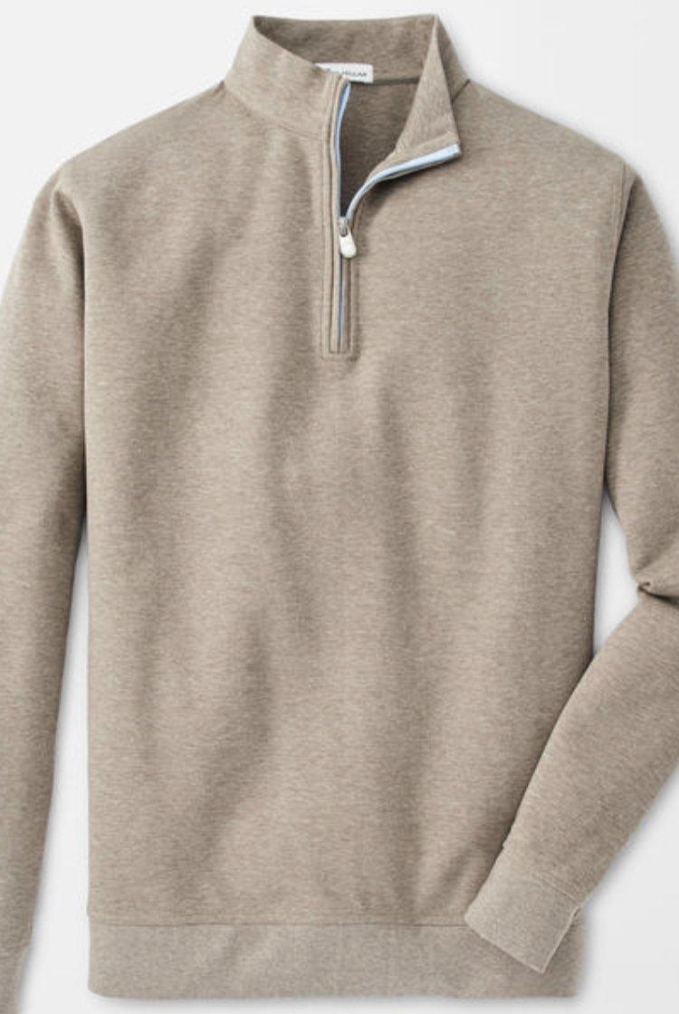 Peter Millar Crown Comfort Interlock 1/4 Zip Pullover