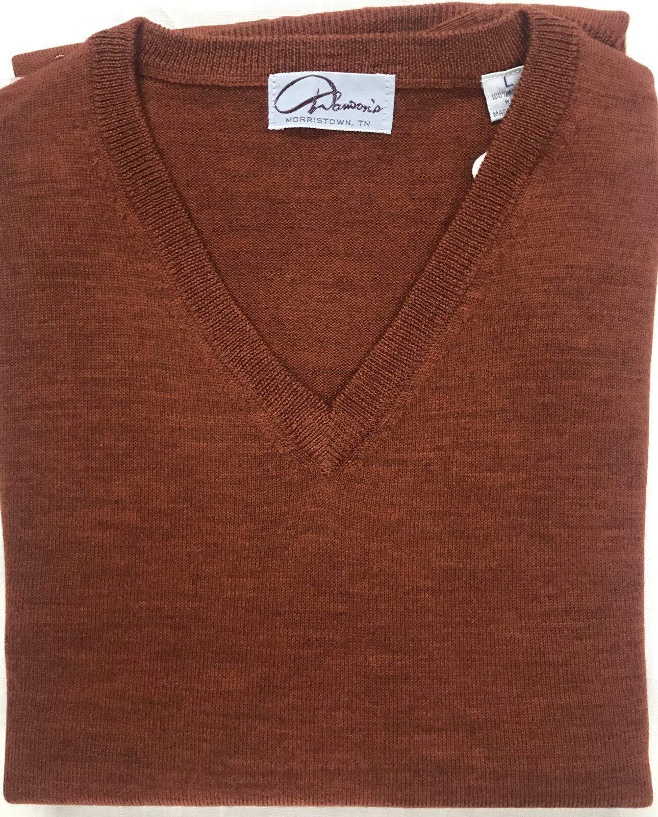 Byford Merino Wool V-Neck Sweater