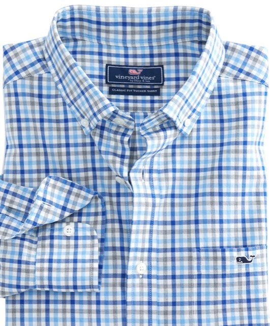 Vinyard Vines Pongview Plaid Shirt