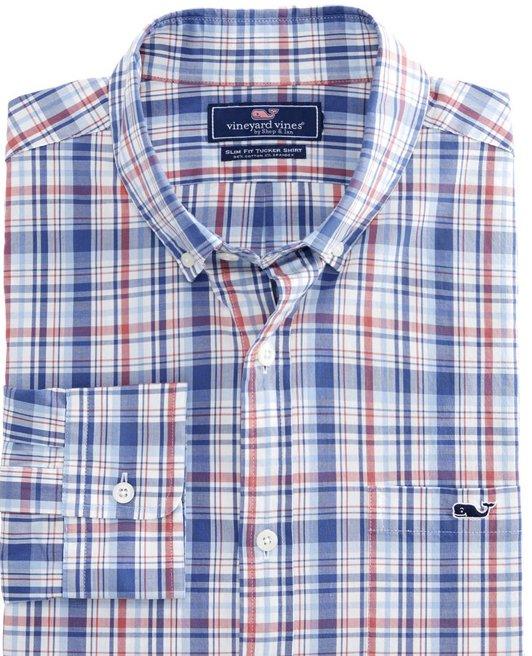Vineyard Vines DukeSCount Slim Fit Shirt