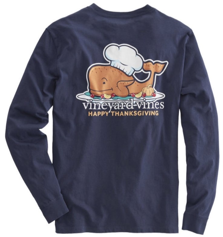 Vineyard Vines Thanksgiving T-Shirt