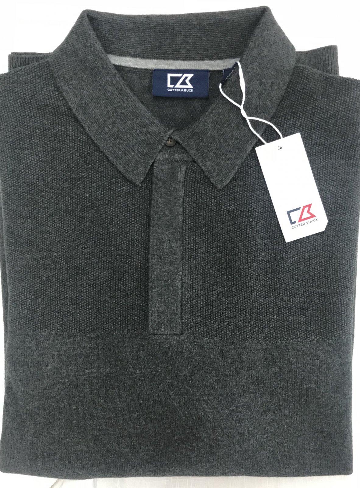 Cutter & Buck Lakemont Zip Polo Sweater
