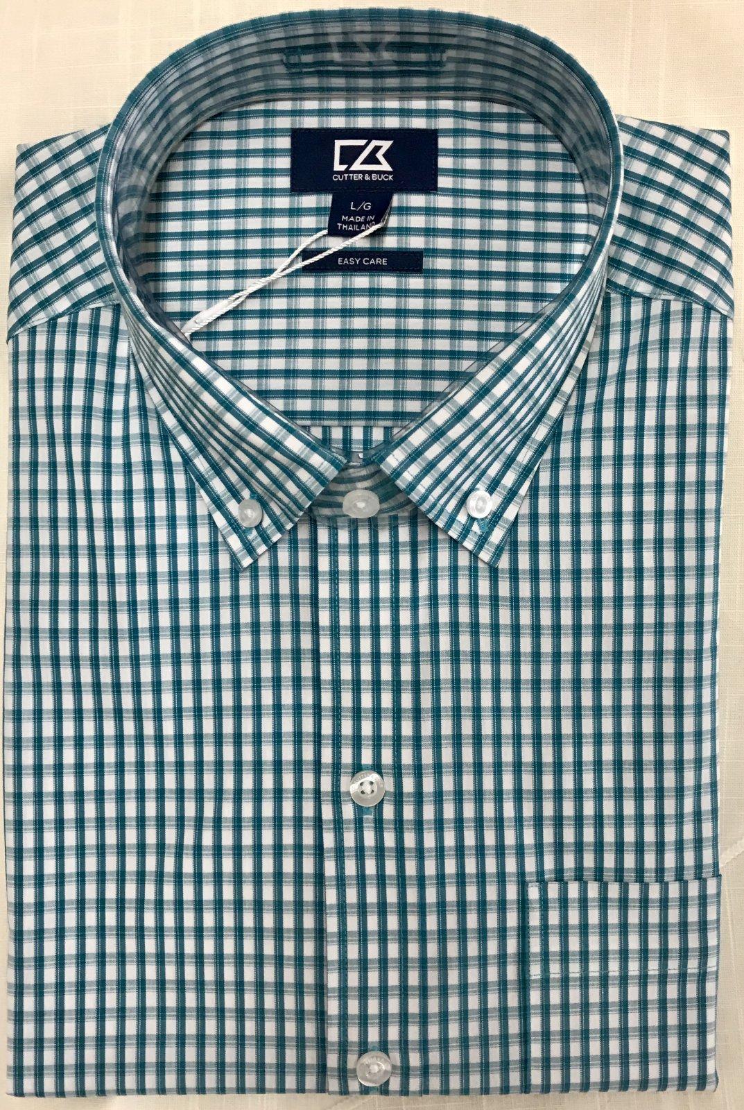 Cutter & Buck Stretch Gingham Shirt