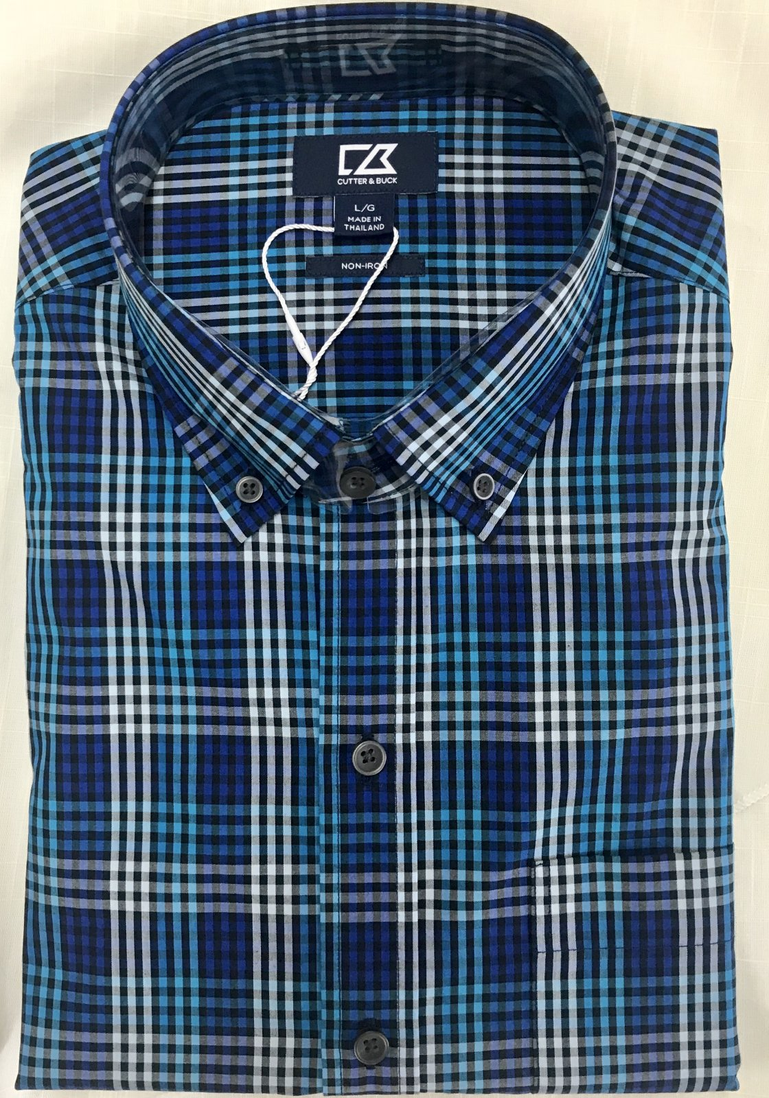 Cutter & Buck Sutton Check Shirt