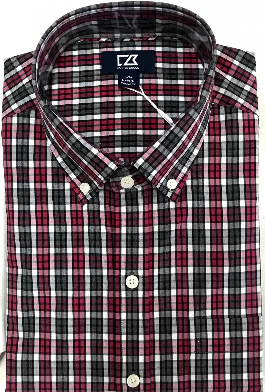 Cutter & Buck Harris Plaid Shirt