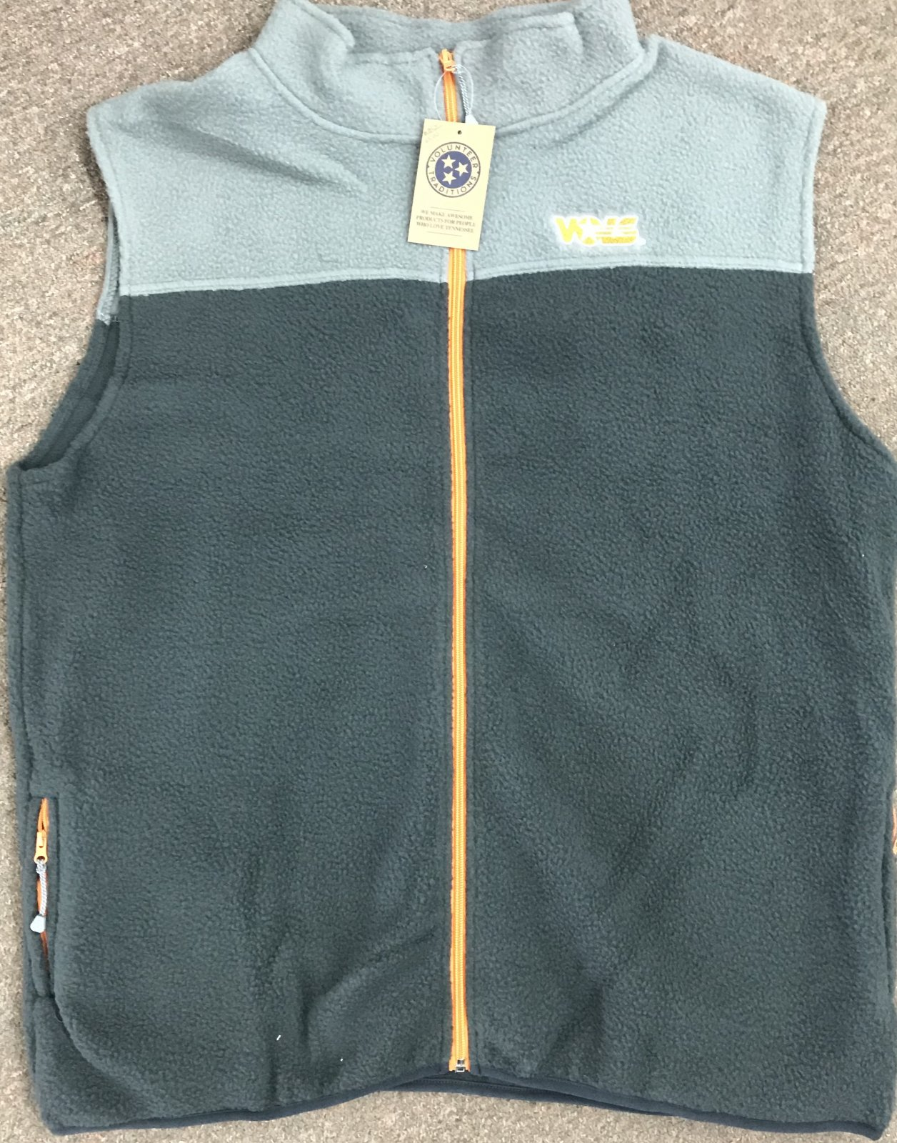 Volunteer Traditions Full Zip Fleece Vest
