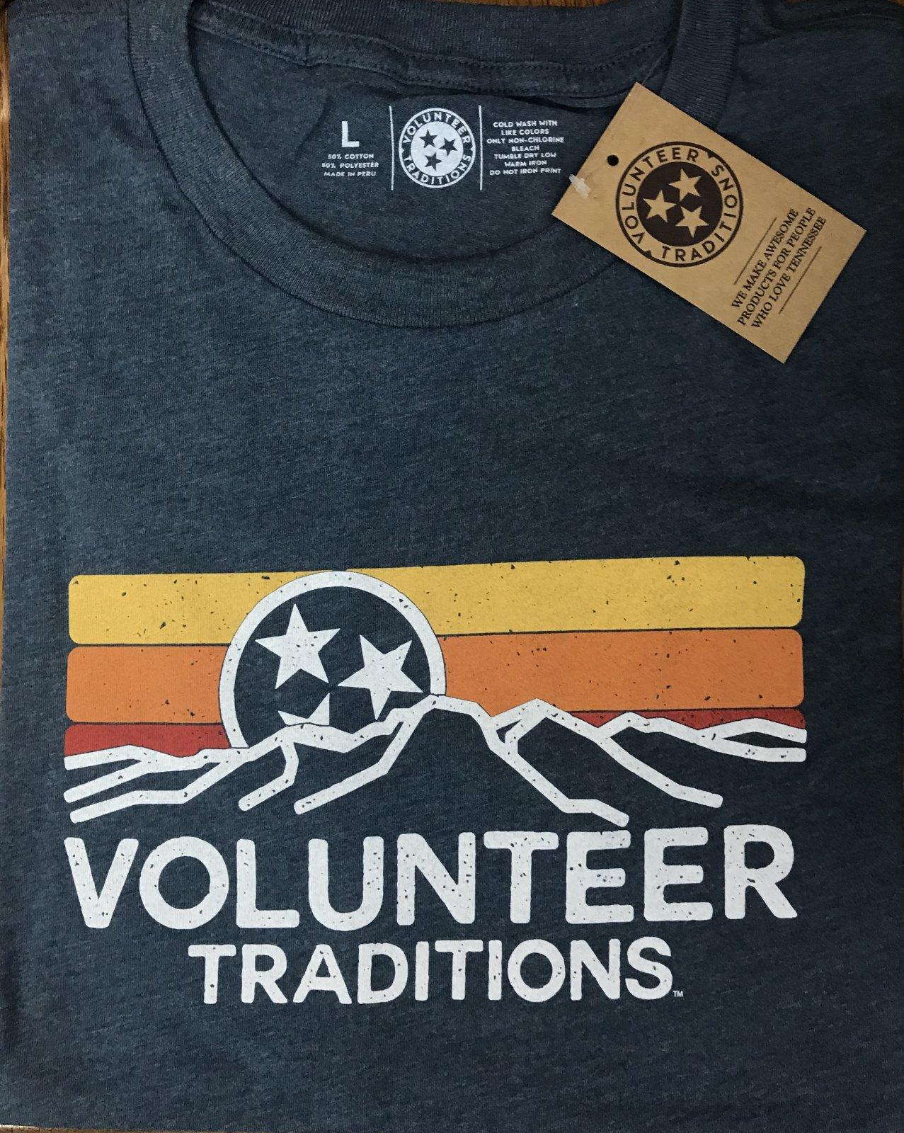 Volunteer Traditions SS Horizon Triblend Tee