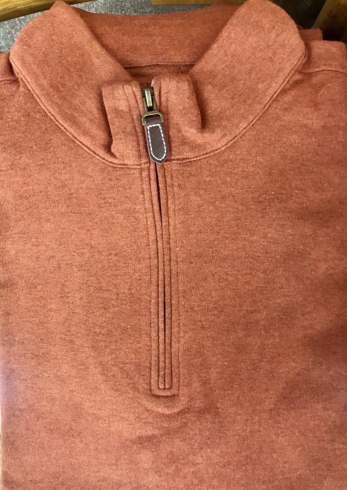 Batton Cotton Suede 1/4 Zp Vest
