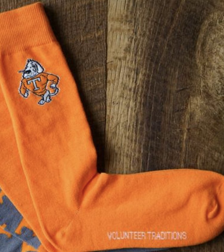 Volunteer Traditions Star Vols Socks