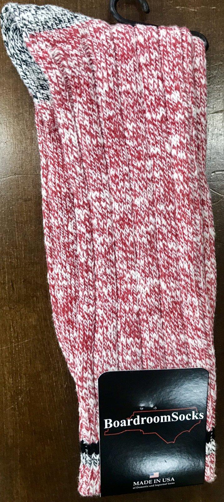 Boardroom Heavy Rib Knit Sock