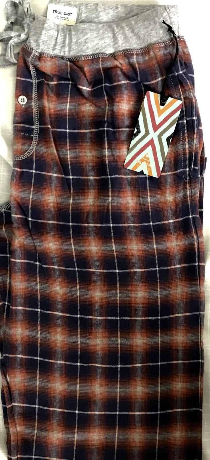 True Grit Crossroads Plaid Flannel Lounge Pant