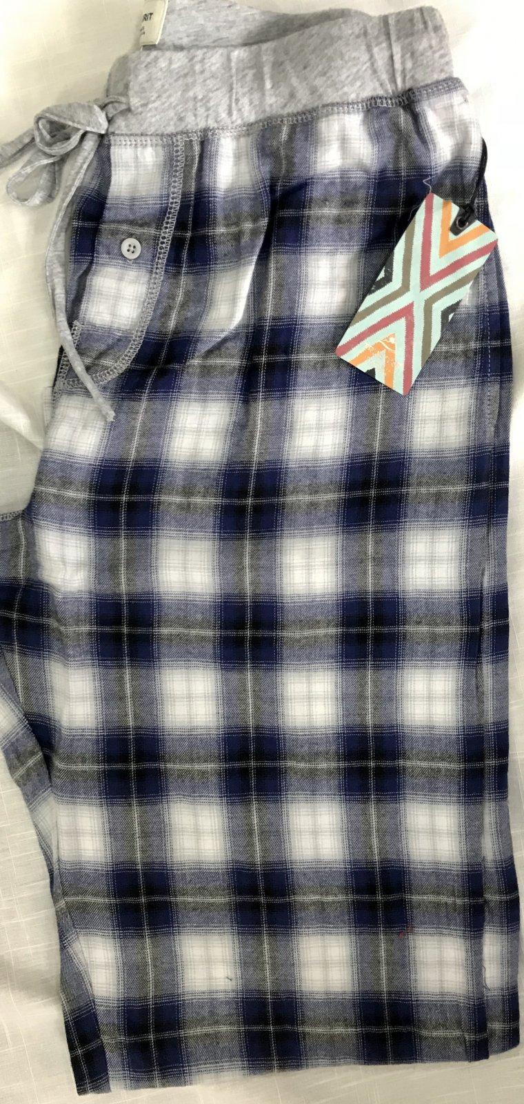 True Grit Shadow Plaid Flannel Lounge Pant