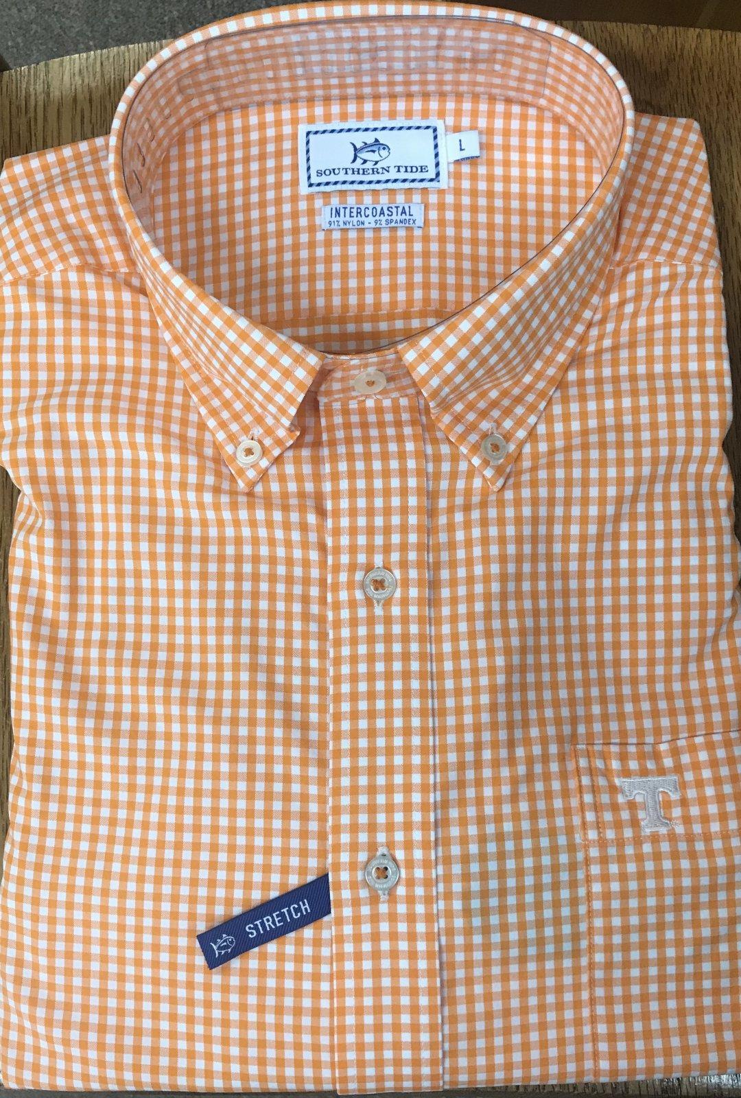 ST LS Gingham Sport Shirt