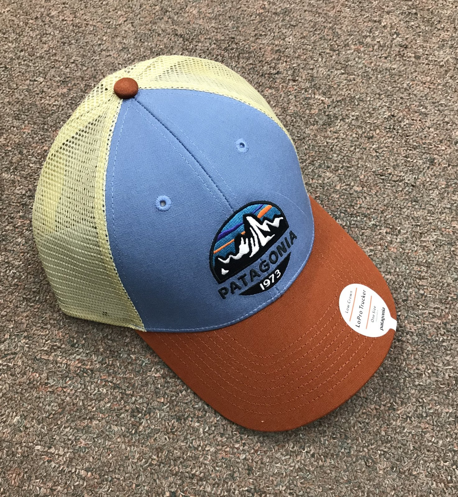 Patagonia Fitzroy Scope Lo-Pro Trucker Hat