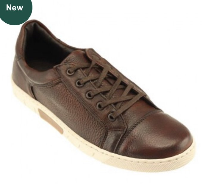 T. B. Phelps Tribeca Lace-Up Deerskin Sneaker