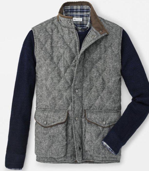 Peter Millar Delta Donegal Tweed Vest MF19Z18