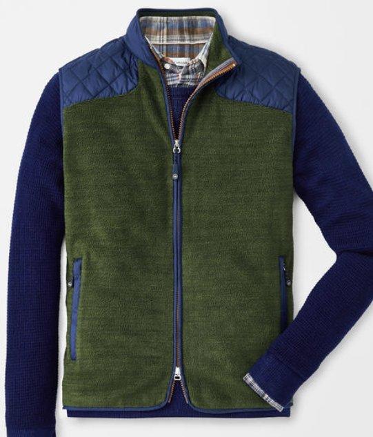 Peter Millar Fireglow Fleece Vest MF19Z46