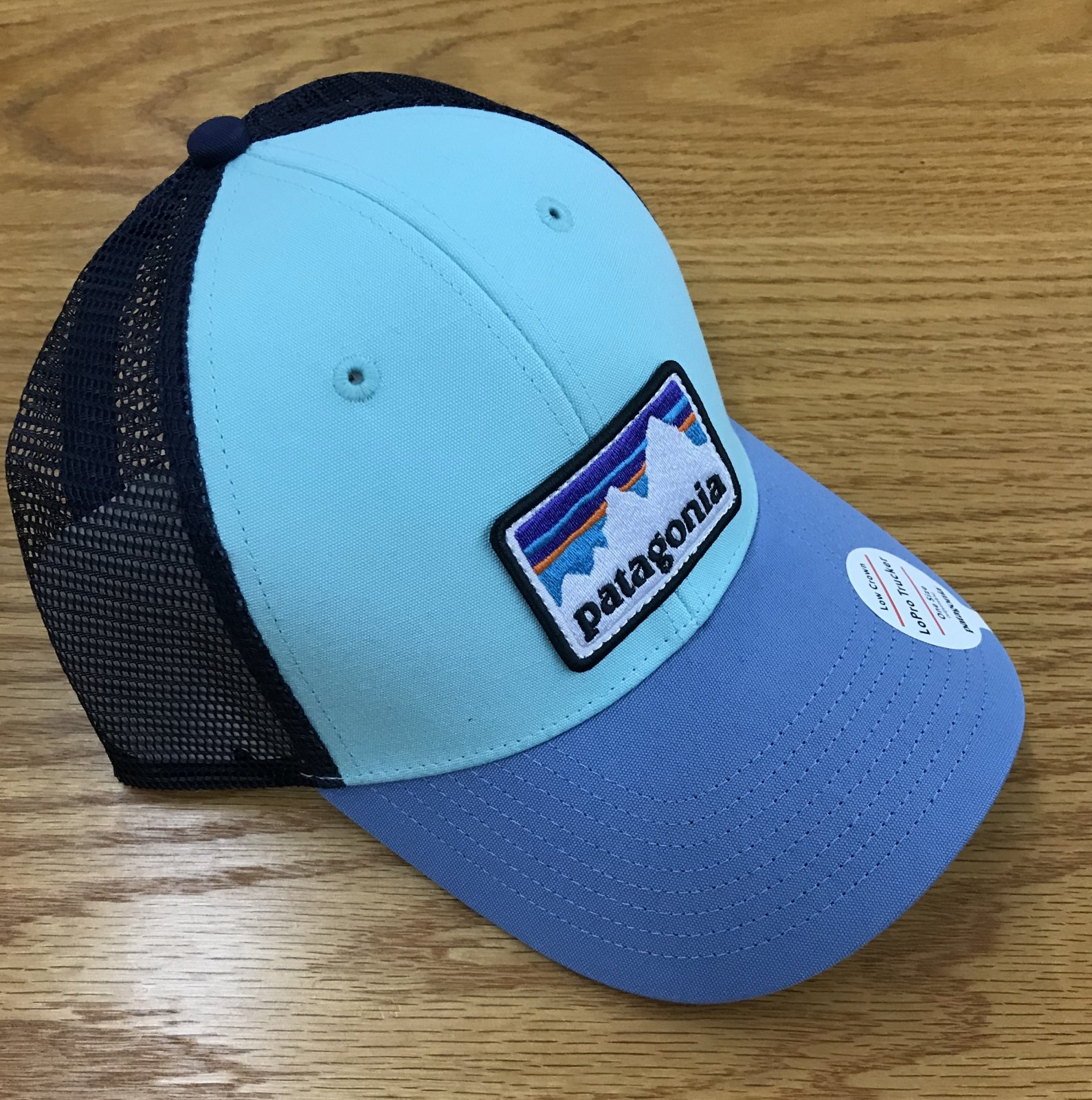 Patagonia Shop Sticker Patch Lo Pro Cap