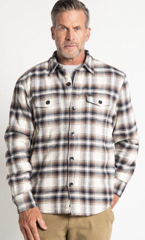 True Grit Roadhouse Checks Summit Shirt Jacket
