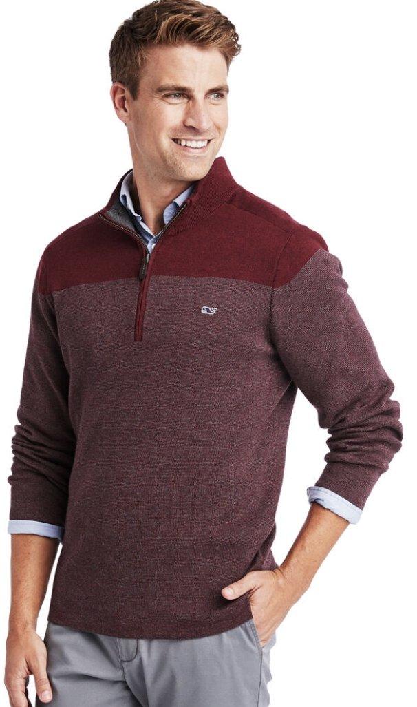 Vineyard Vines Ridgefield 1/2 Zip Sweater