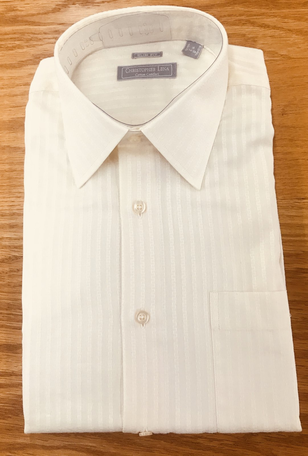Christoper Lena Ecru Dress Shirt