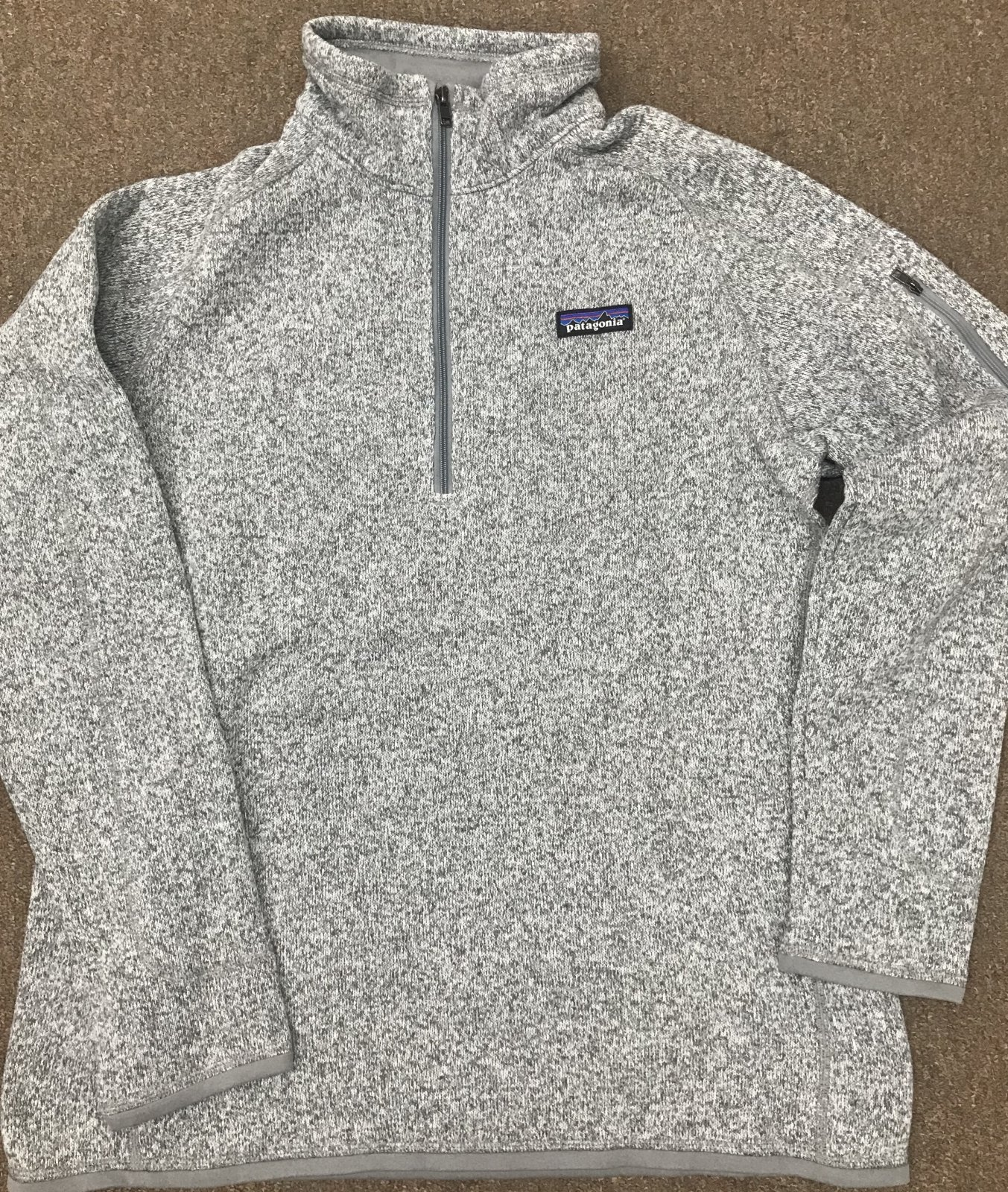 Patagonia Women's Better Sweater  LS 1/4 Zip