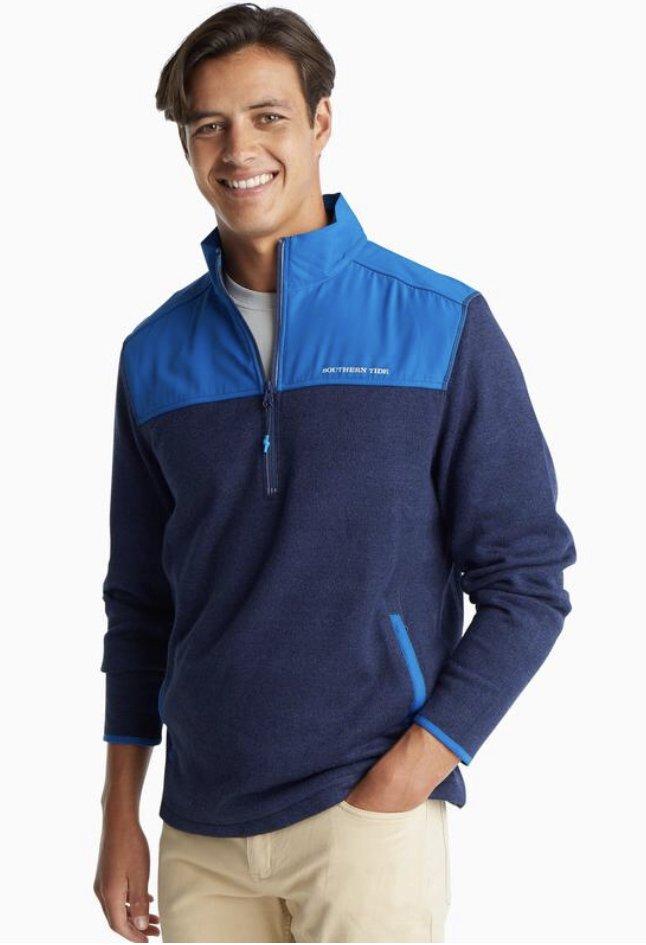 Southern Tide Cottage Sweater Fleece 1/4 Zip 5940