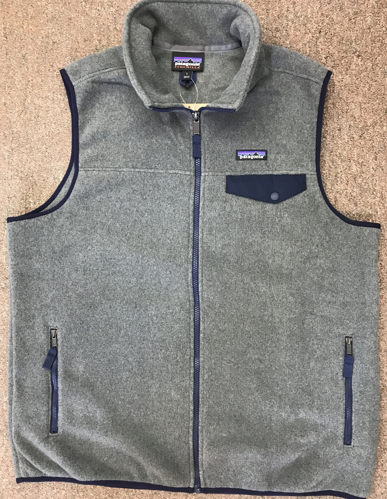 Patagonia Fall 18 LT/WT Synchilla Snap T-Vest