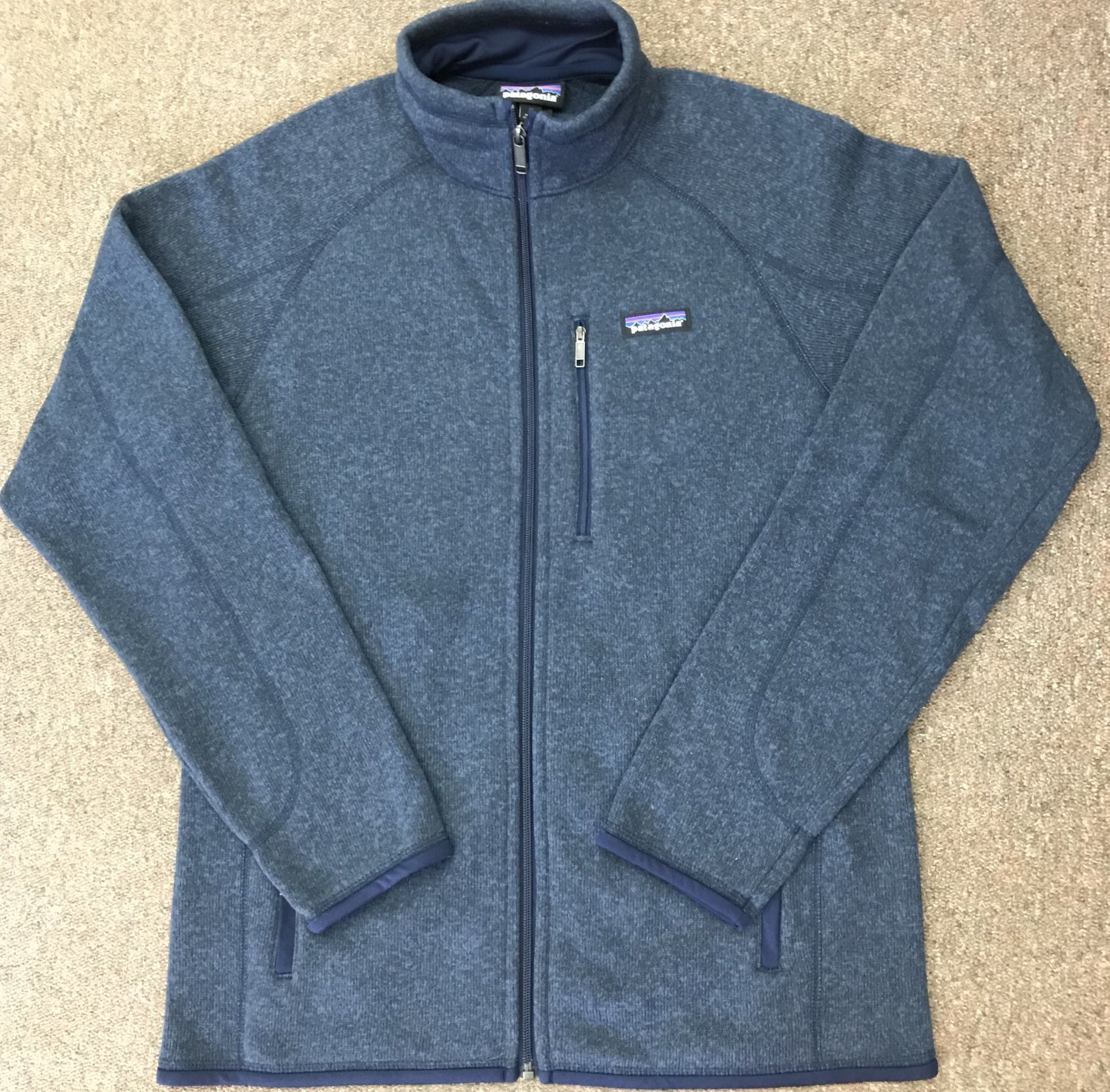 Patagonia Mens Better Sweater Full Zip Jkt 888336232780