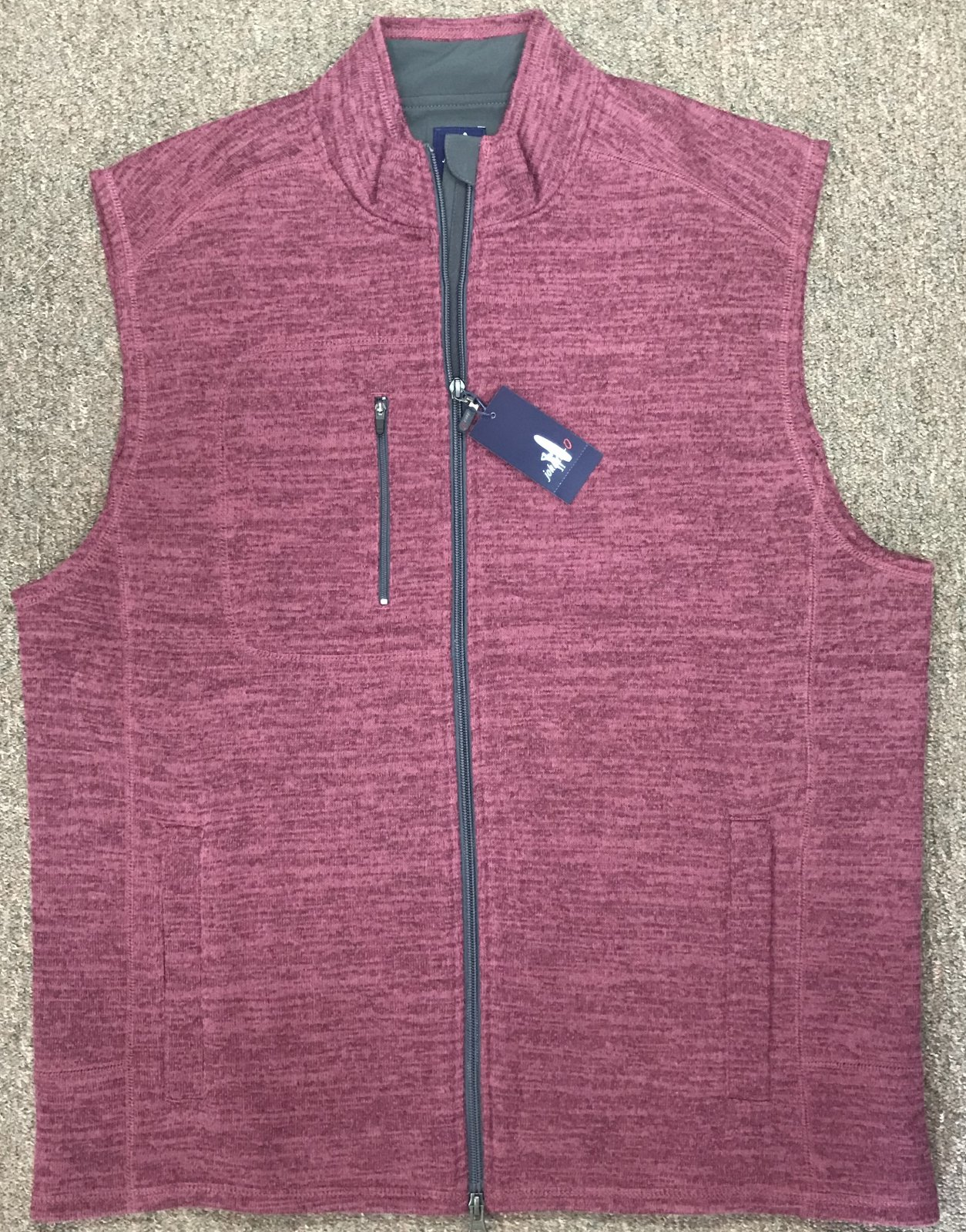 Johnnie-O Fall 18 Full Zip Vest Tahoe