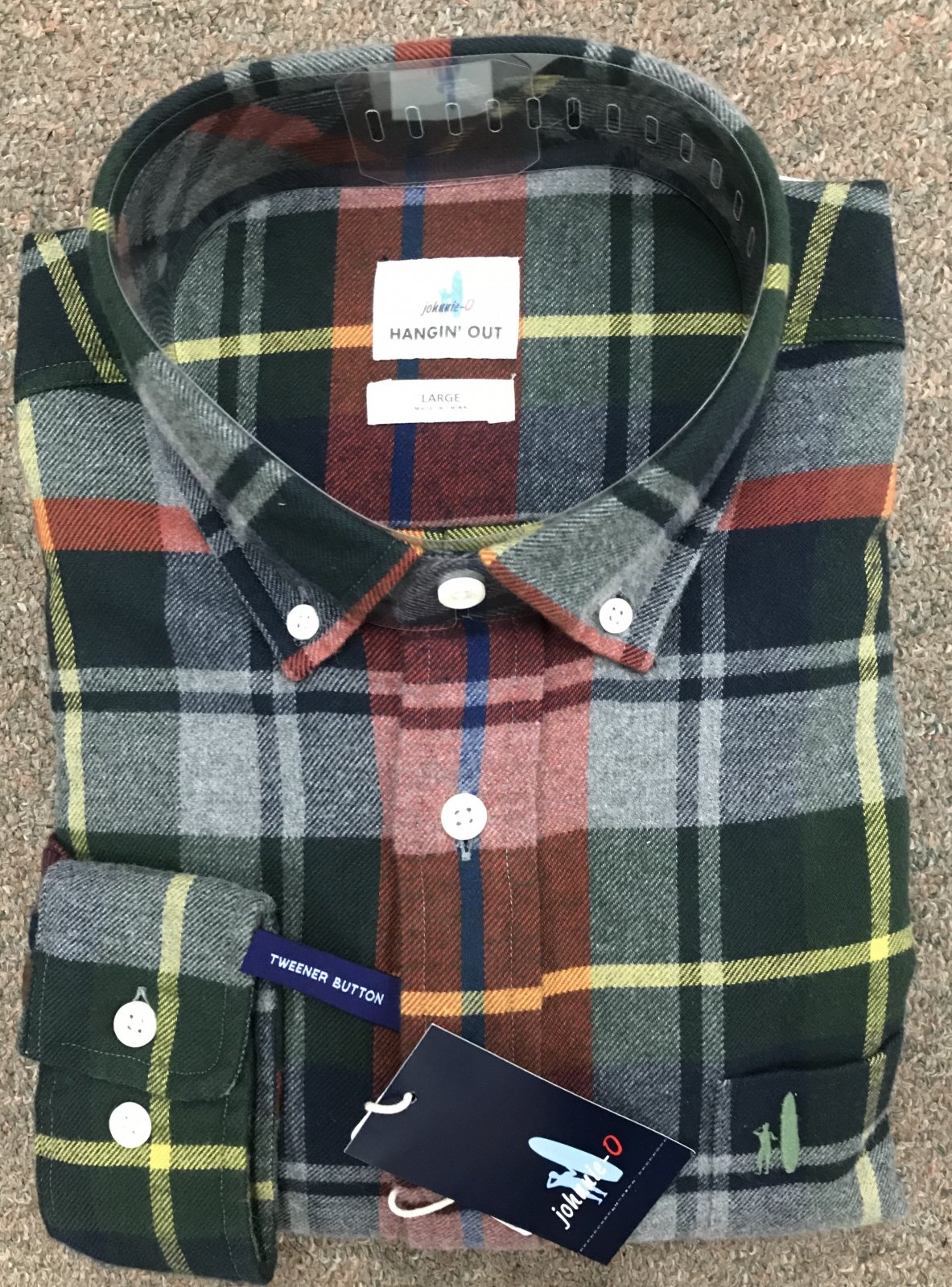 Johnnie-O Fall 18 Flannel Shirts
