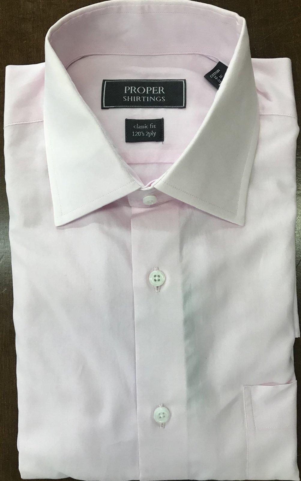 Proper Pink Shirt
