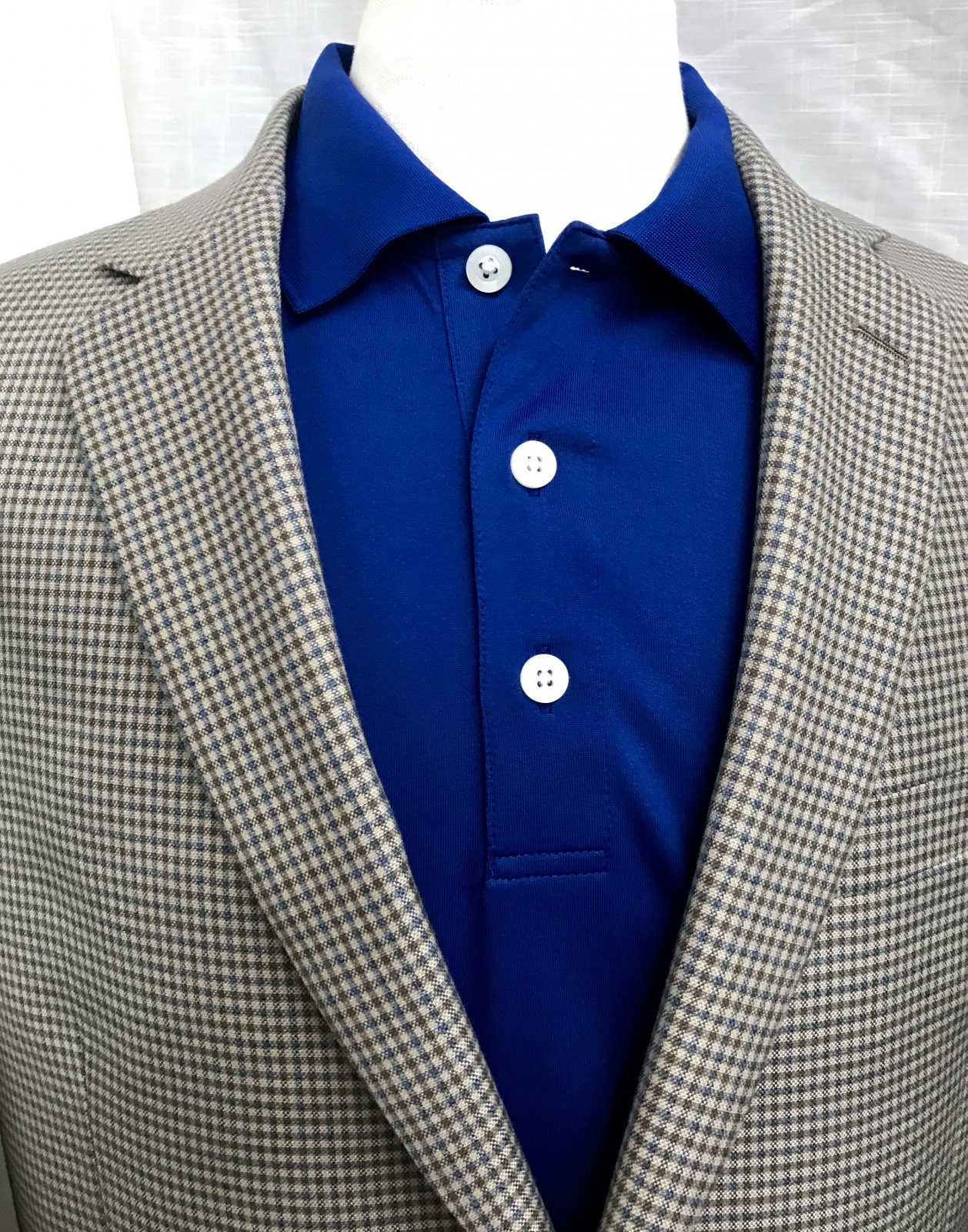 Jean-Paul Germain Small Check Sportcoat