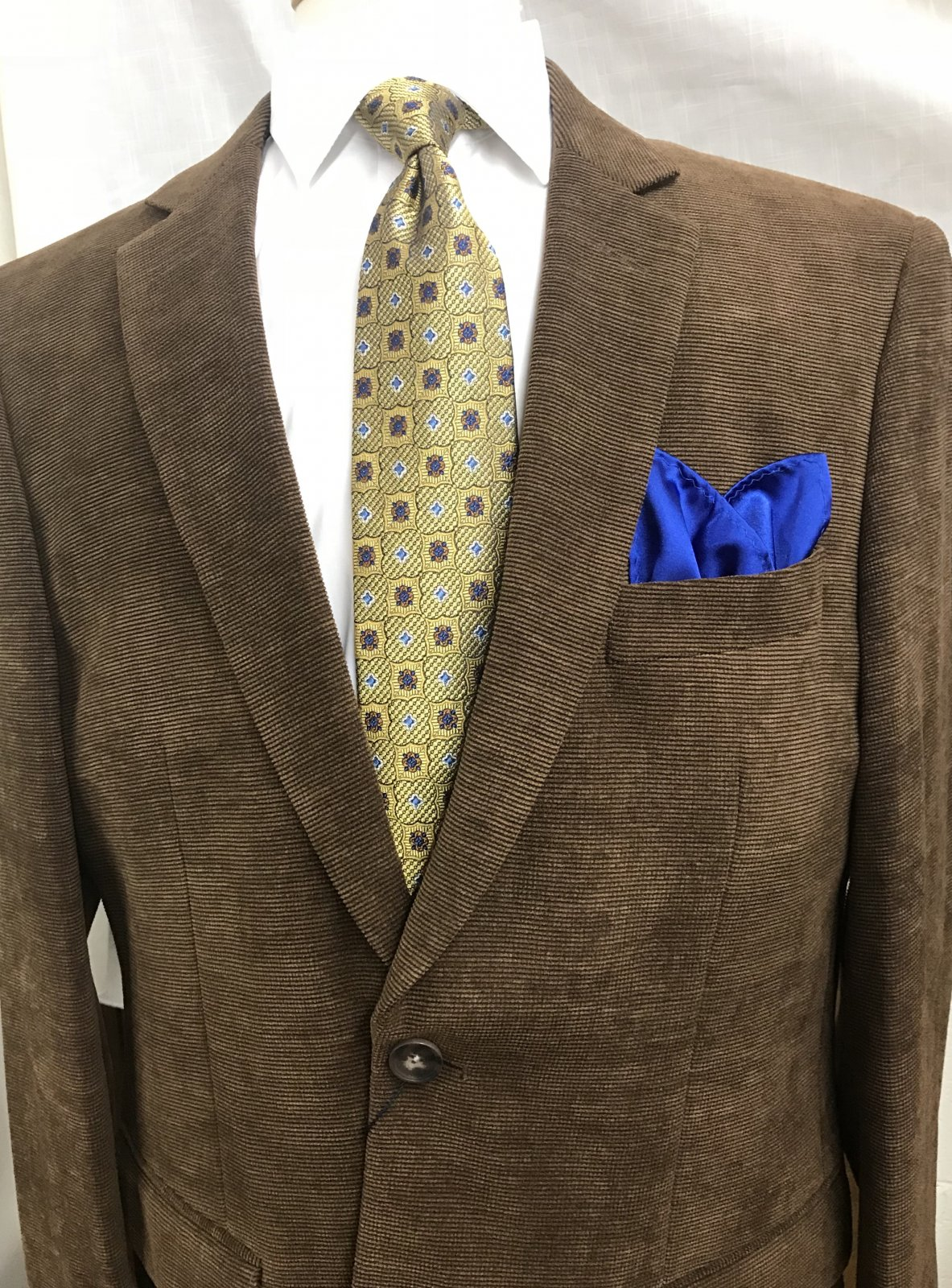 Affazy Brown Microcord Sportcoat